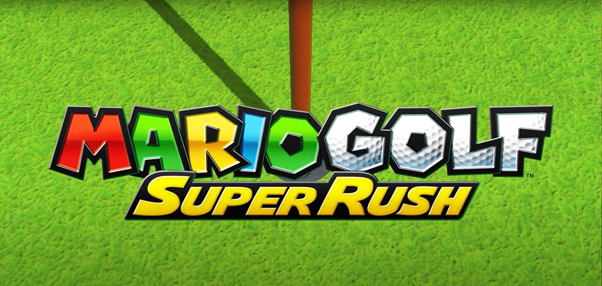 Logo de Mario Golf: Super Rush