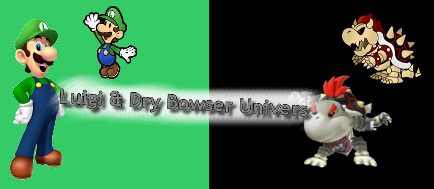 Luigi & Dry Bowser Univers