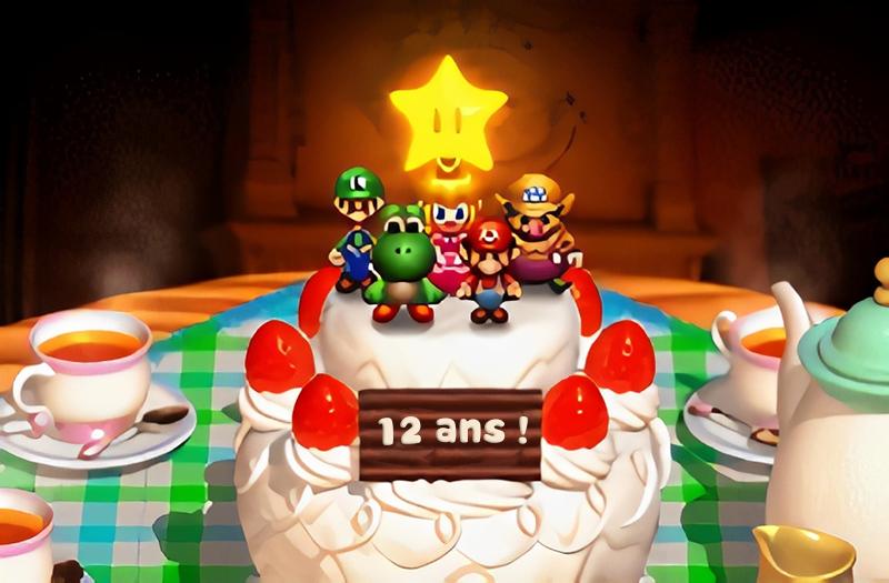 Gâteau de Peach - 12 ans !